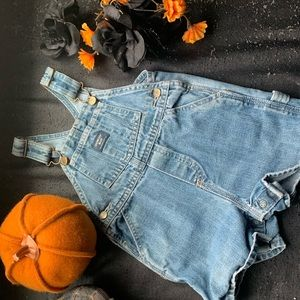 Oak Kosh Blue Short Overalls